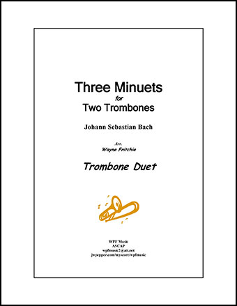 Three Minuets for Two Trombones