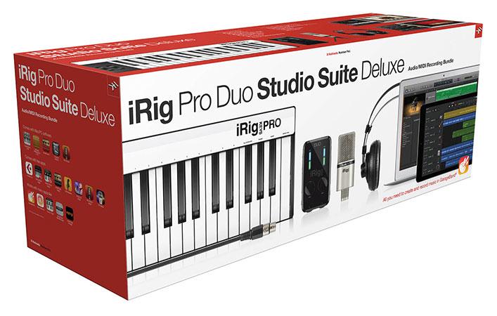 iRig Pro Duo Studio Suite Deluxe