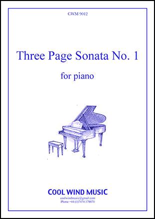 3 Page Sonata #1