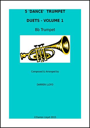 5 Dance Trumpet duets Volume 1