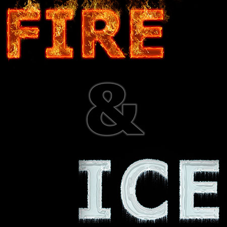 Fire and Ice marching band show cover