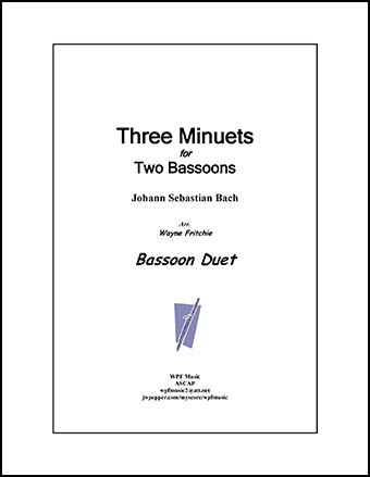 Three Minuets for Two Bassoons