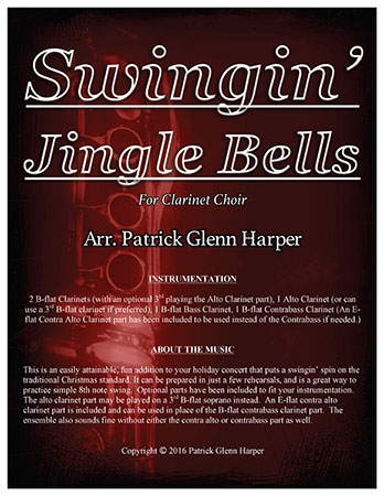 Swingin' Jingle Bells - for Clarinet Choir