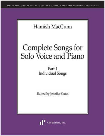 Complete Songs for Solo Voice and Piano, Part 1