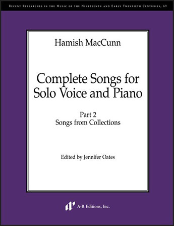 Complete Songs for Solo Voice and Piano, Part 2