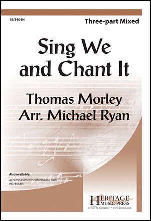 Sing We and Chant it