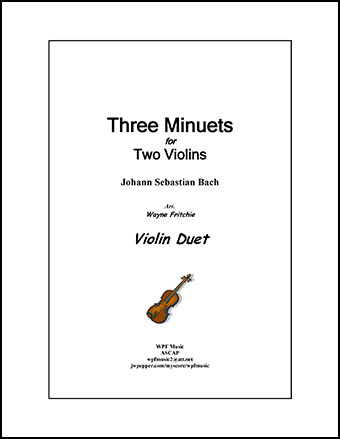 Three Minuets for Two Violins