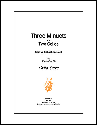 Three Minuets for Two Cellos