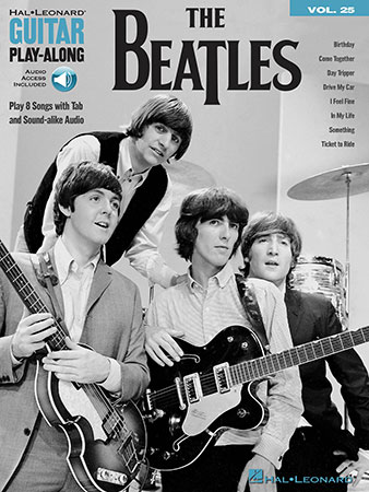 Guitar Play-Along Vol. 25: The Beatles
