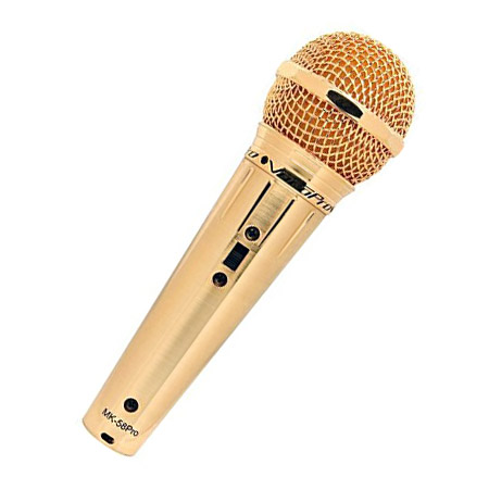 Gold Vocal Mic