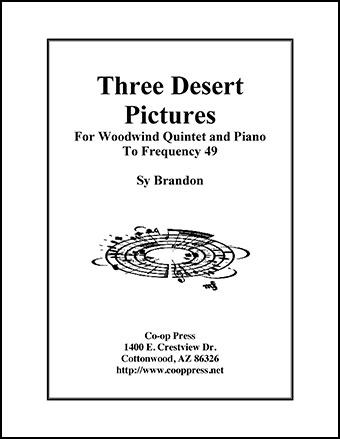 Three Desert Pictures for Woodwind Quintet and Piano Thumbnail