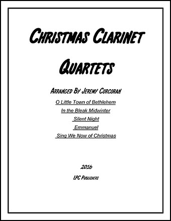 5 Christmas Quartets for Clarinet