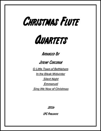 5 Christmas Carols for Flute Quartet