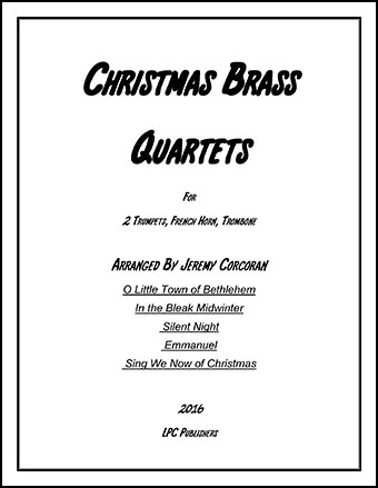 5 Christmas Carols for Brass Quartet