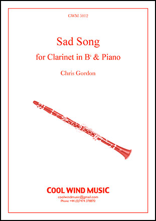 Sad Song (Clarinet Solo with Piano ) by | J W  Pepper Sheet