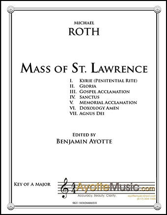 Mass of St. Lawrence