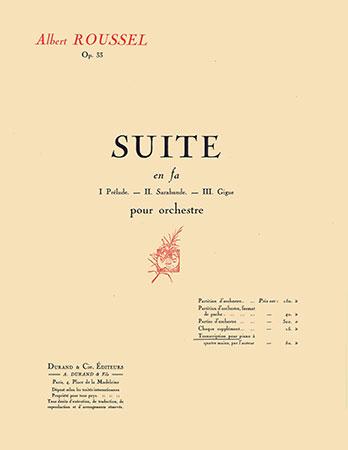 Suite in F Op. 33