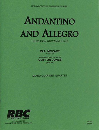 Andantino and Allegro