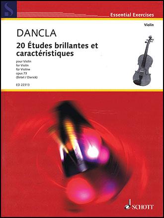 20 Etudes brillantes et caracteristiques, Op. 73