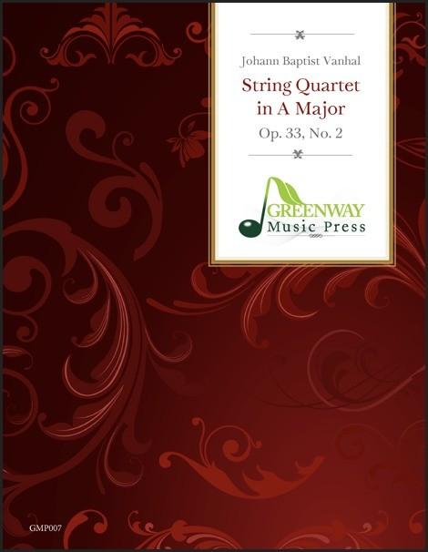 String Quartet in A Major, Op. 33, No. 2