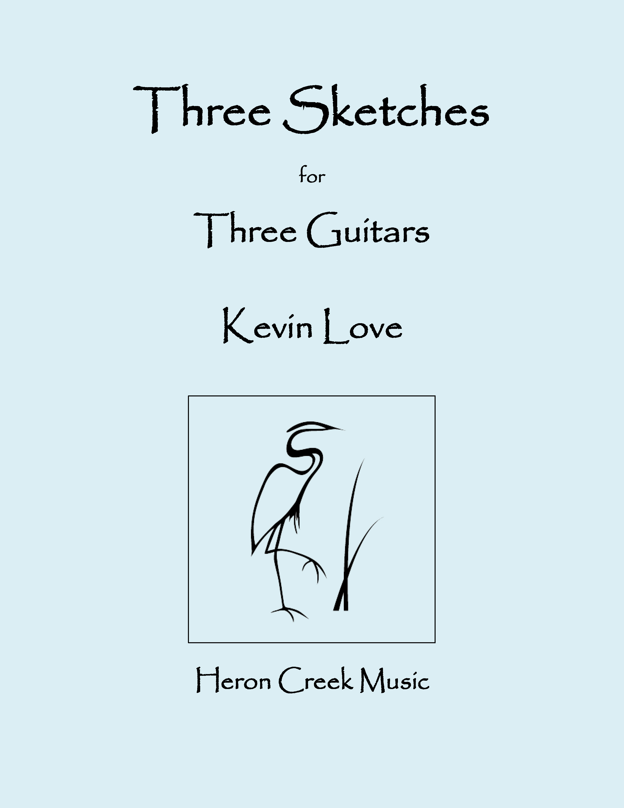 Three Sketches for Three Guitars