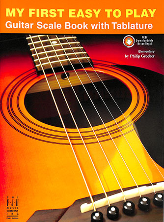 My First Easy to Play Guitar Scale Book
