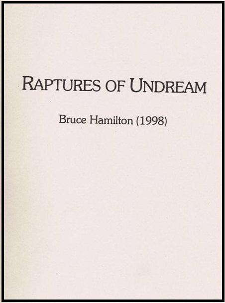 Raptures of Undream