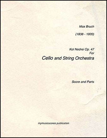 Kol Nedrei for Cello and String Orchestra