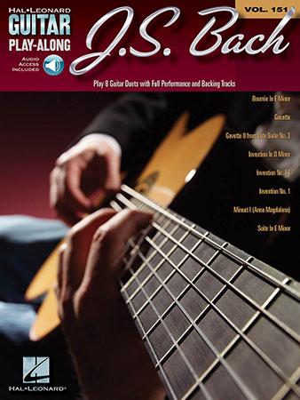 Guitar Play Along Vol. 151 J.S. Bach