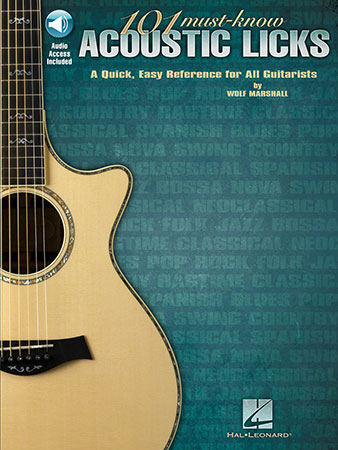 101 Must-Know Acoustic Licks
