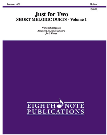 Just for Two: Short Melodic Duets, Vol. 1