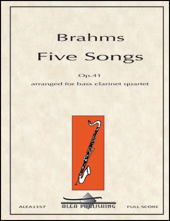 Five Songs, Op. 41