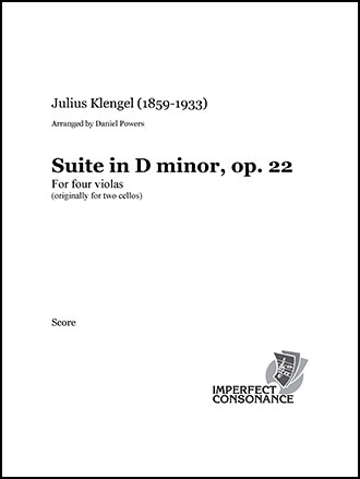Suite in D minor, op. 22