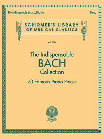 The Indispensable Bach Collection Cover
