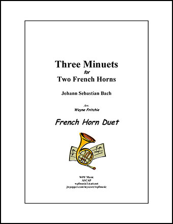 Three Minuets for Two French Horns