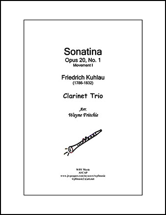 Sonatina Opus 20, No. 1, Movement I