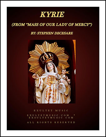 Kyrie (from Mass of Our Lady of Mercy)