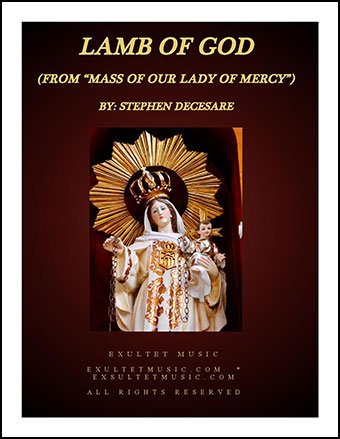 Lamb Of God (from Mass of Our Lady of Mercy)