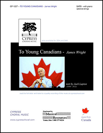 To Young Canadians