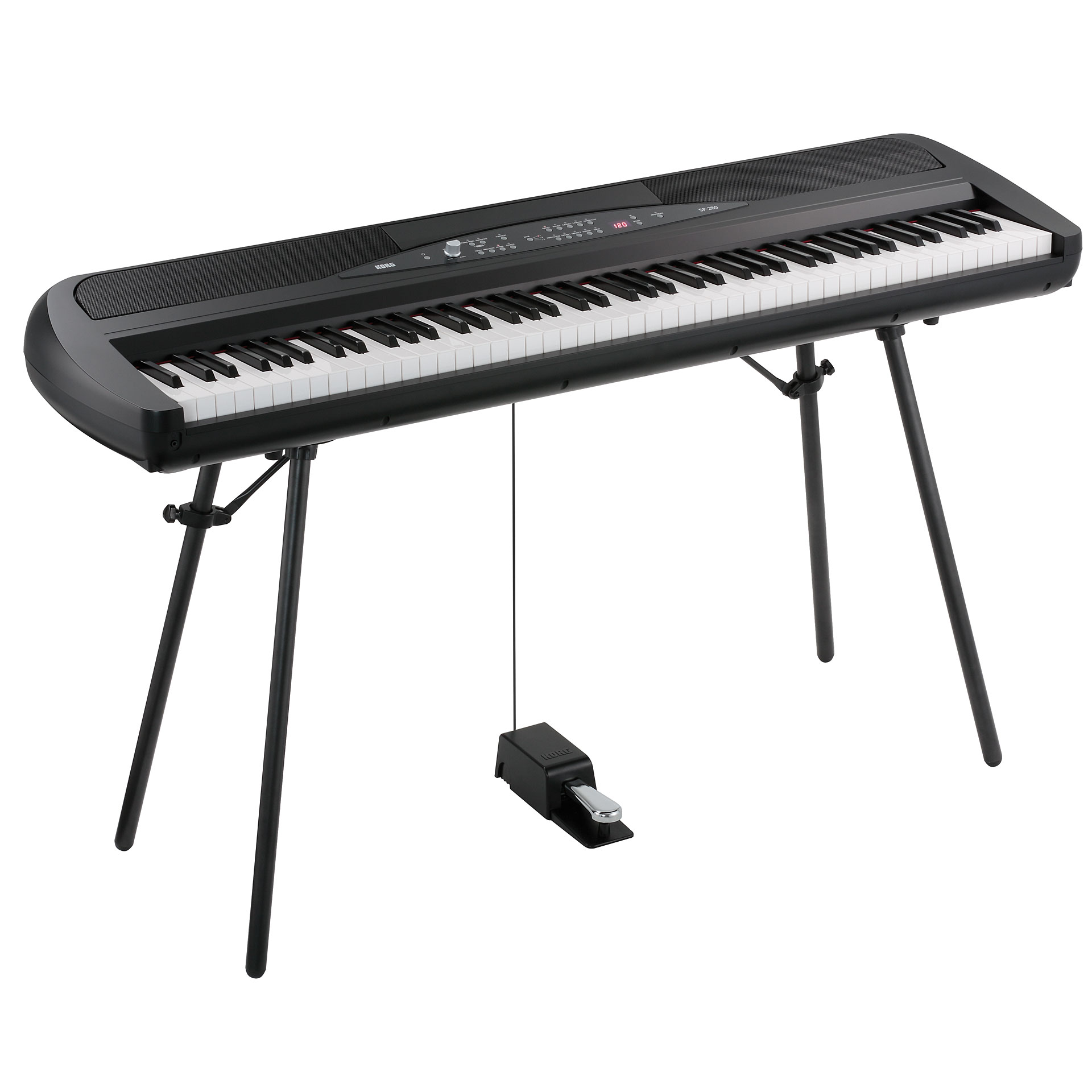 Korg SP280 Concert Series Digital Piano with Speakers and Stand