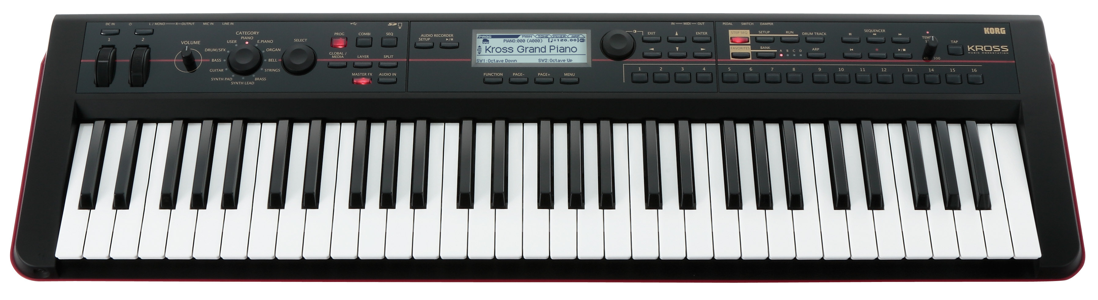 Korg KROSS61 Mobile Workstation