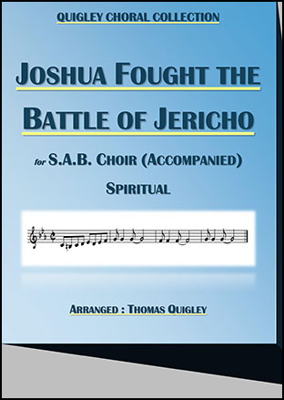 Joshua fought the Battle of Jericho (S.A.B.)