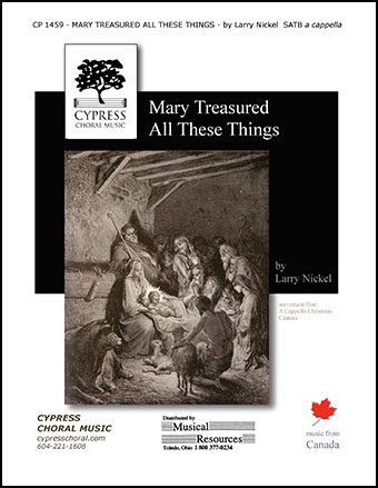 Mary Treasured All These Things