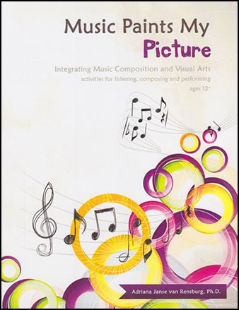 Music Paints My Picture : Integrating Music Composition and Visual Arts