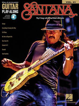 Guitar Play-Along Vol. 21: Santana
