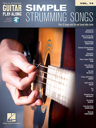 Guitar Play-Along, Vol. 74: Simple Strumming Songs