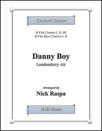 Danny Boy for Clarinet Quintet