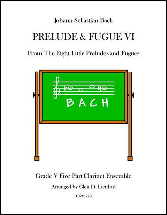 Prelude and Fugue VI (Clarinet)