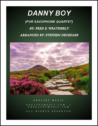 Danny Boy (for Saxophone Quartet)