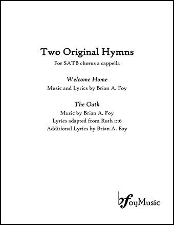 Two Original Hymns